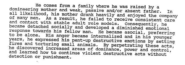 FBI Jack the Ripper Profile